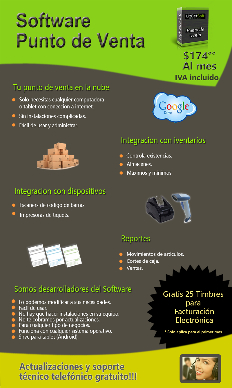 Software punto de venta abarrotes ferreterias farmacias for Software muebleria